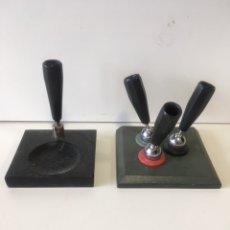 Estilográficas antiguas, bolígrafos y plumas: SUPORTE PLUMA ART DECO. Lote 234013410