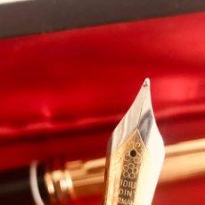 Estilográficas antiguas, bolígrafos y plumas: MAGNIFICA PLUMA Y BOLÍGRAFO IRIDIUM POINT. EXCELENTE CALIDAD PROVIENE DE HERENCIA. Lote 235446820