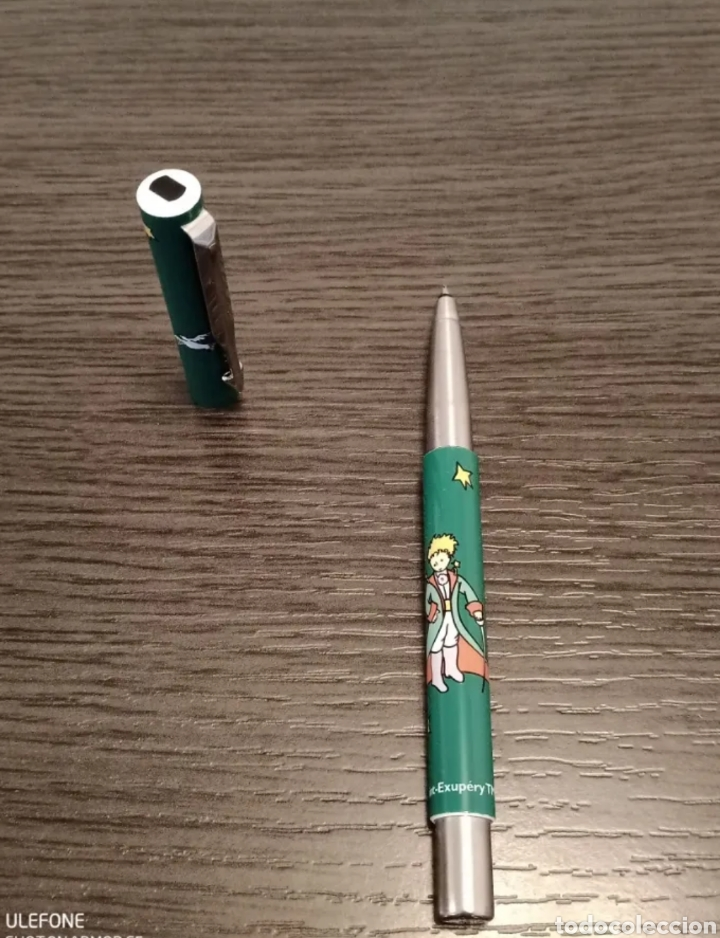 Estilográficas antiguas, bolígrafos y plumas: Antiguo Conjunto Bolígrafo y Roller PARKER VECTOR Ed. Especial EL PRINCIPITO - Foto 17 - 236368555