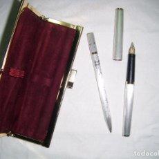 Estilográficas antiguas, bolígrafos y plumas: PLUMA MONTBLANCH GERMANY. Lote 237281845