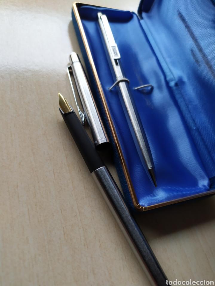 Estilográficas antiguas, bolígrafos y plumas: Bolígrafo y pluma Paper Mate W Nuevos - Foto 3 - 243211425