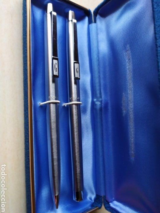 Estilográficas antiguas, bolígrafos y plumas: Bolígrafo y pluma Paper Mate W Nuevos - Foto 2 - 243211425