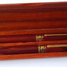 Estilográficas antiguas, bolígrafos y plumas: PLUMA Y BOLÍGRAFO PARA COLECCIONISTAS. VER FOTOS.. Lote 244191180