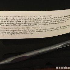 Estilográficas antiguas, bolígrafos y plumas: PORTAMINAS PORSCHE DESIGN TITANIO MODELO P3120. Lote 244612380