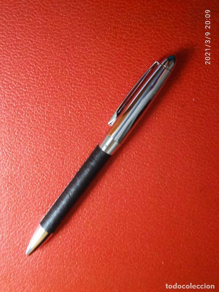 Estilográficas antiguas, bolígrafos y plumas: ESTILOGRAFICA Y BOLIGRAFO NICORETTE SIN USAR. - Foto 2 - 246784175