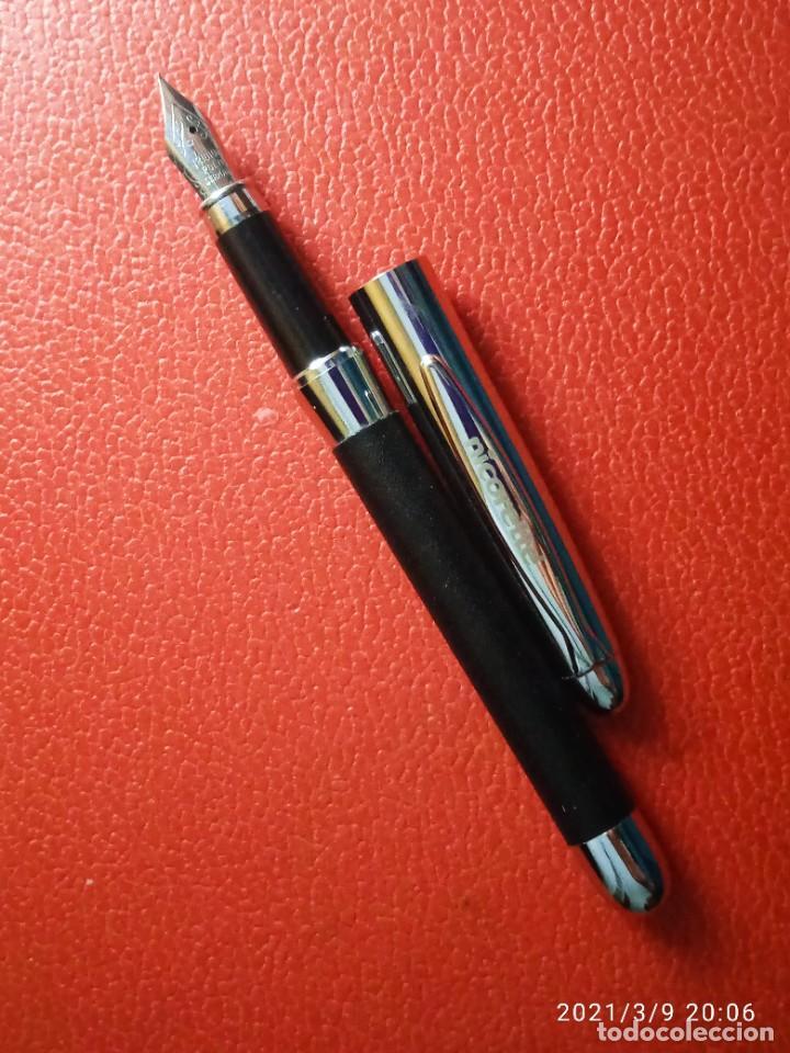 Estilográficas antiguas, bolígrafos y plumas: ESTILOGRAFICA Y BOLIGRAFO NICORETTE SIN USAR. - Foto 6 - 246784175