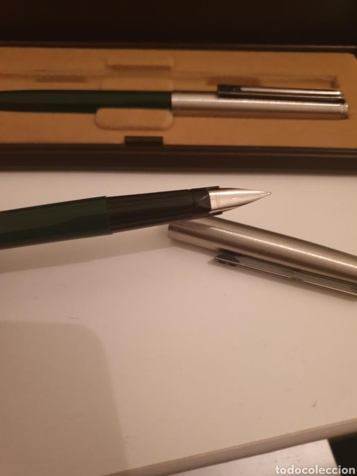 Estilográficas antiguas, bolígrafos y plumas: Bolígrafo pluma inoxrom - Foto 2 - 247537020