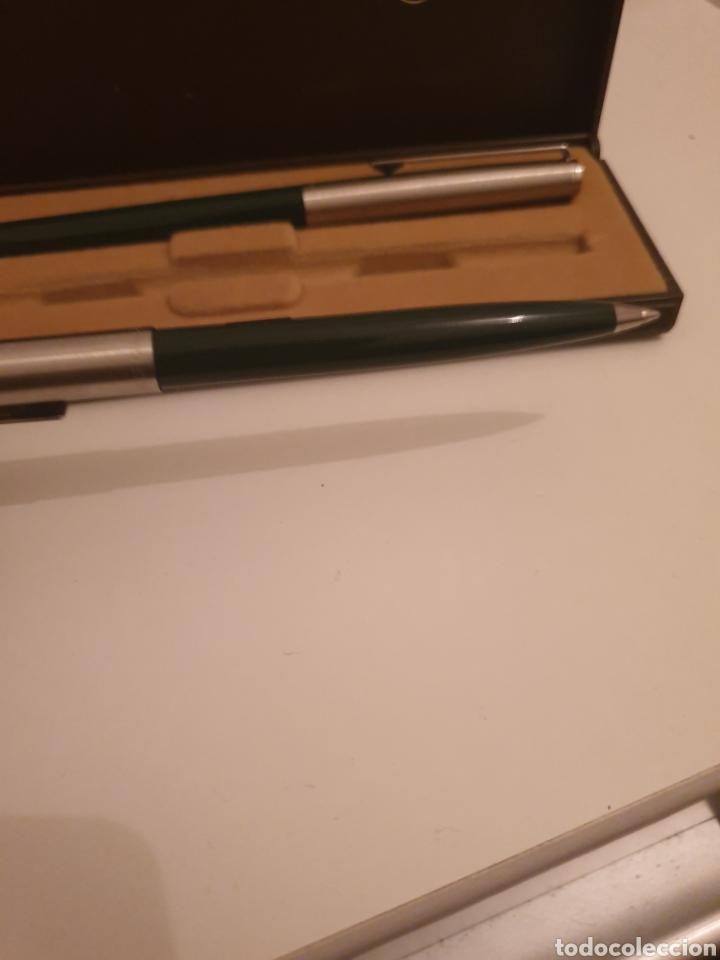 Estilográficas antiguas, bolígrafos y plumas: Bolígrafo pluma inoxrom - Foto 4 - 247537020