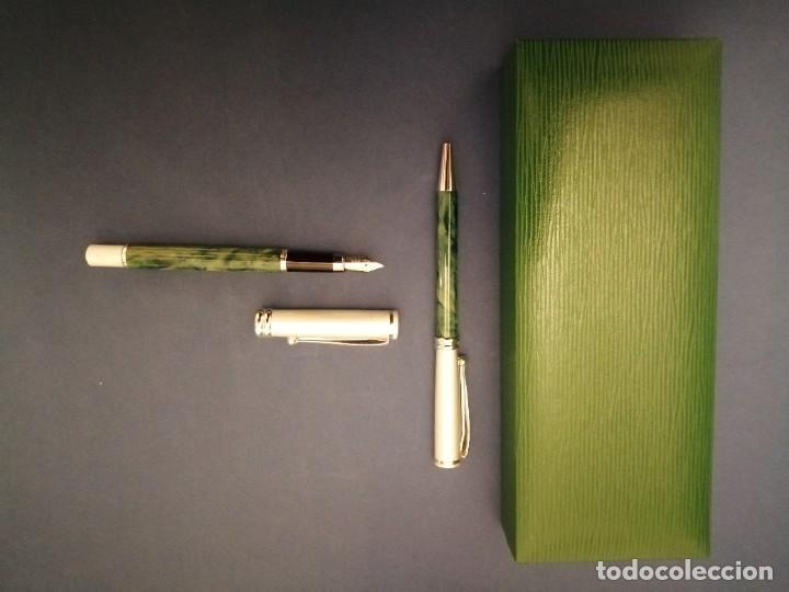 Estilográficas antiguas, bolígrafos y plumas: ESTUCHE BELBOL PLUMA Y BOLIGRAFO - Foto 8 - 252224735