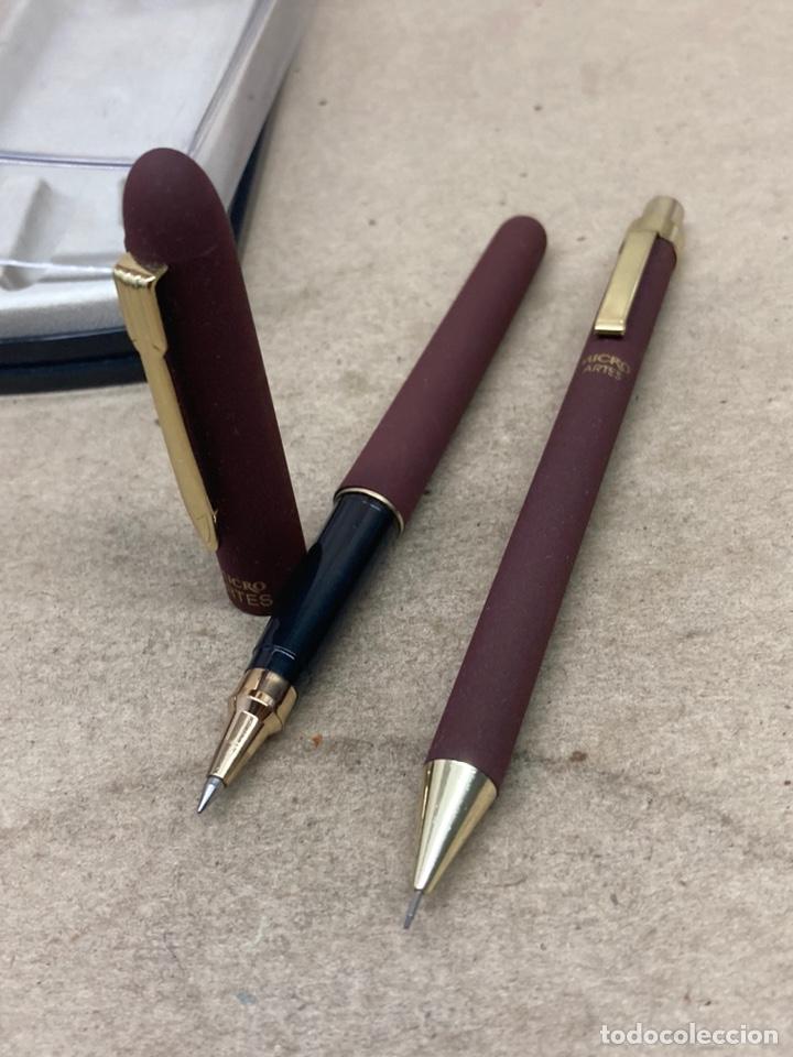 Estilográficas antiguas, bolígrafos y plumas: Juego Micro portaminas y bolígrafo en su estuche - Foto 3 - 254314150