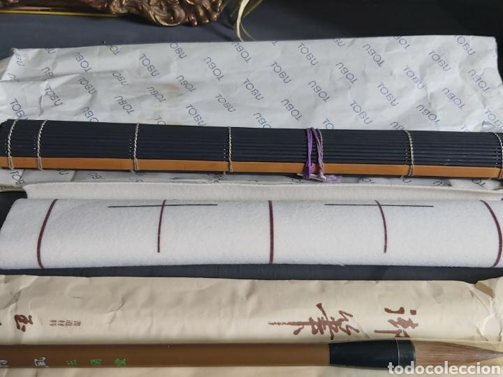 Estilográficas antiguas, bolígrafos y plumas: Juego de escritura japonés. ToBU. - Foto 3 - 254736890