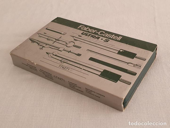 Estilográficas antiguas, bolígrafos y plumas: Juego de compás Faber Castell Ultra S - Foto 4 - 254986125