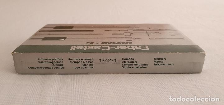 Estilográficas antiguas, bolígrafos y plumas: Juego de compás Faber Castell Ultra S - Foto 5 - 254986125