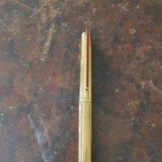 Estilográficas antiguas, bolígrafos y plumas: CONJUNTO BOLIGRAFO Y PLUMA PLATA BAÑADA MARCA DUPONT. Lote 261992685
