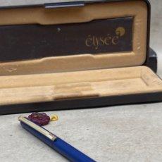 Estilográficas antiguas, bolígrafos y plumas: BOLÍGRAFO ELIPSE. Lote 262619710