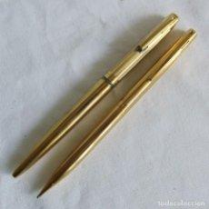 Estilográficas antiguas, bolígrafos y plumas: BOLÍGRAFO + PORTAMINAS SHEAFFER. Lote 266369143