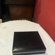 Estilográficas antiguas, bolígrafos y plumas: CAJA ESTILOGRÁFICA MONT BLANC COLOR NEGRO . VER FOTOS. Lote 267322179