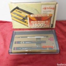 Estilográficas antiguas, bolígrafos y plumas: ROTRING EN SU CAJA 1982. Lote 269258083