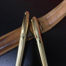 Estilográficas antiguas, bolígrafos y plumas: PLUMA Y BOLÍGRAFO SHEAFFER. Lote 275872398