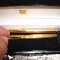Stilografiche antiche, penne a sfera e penne: ANTIGUO BOLIGRAFO Y PLUMA PARKER. Lote 284732488