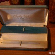 Estilográficas antiguas, bolígrafos y plumas: ESTUCHE VACIO PARA CONJUNTO CROSS COUPLES GIFT 15 X 10 CMS APROX. Lote 287661028