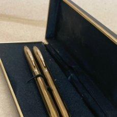 Stilografiche antiche, penne a sfera e penne: JUEGO KANOE BOLÍGRAFO Y PORTAMINAS. Lote 287923478