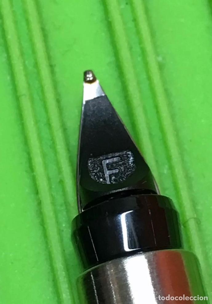 Estilográficas antiguas, bolígrafos y plumas: Set Parker Pluma+Rollerball Vector - Foto 3 - 289485878