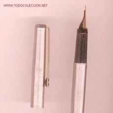 Plumas estilográficas antiguas: PLUMA INOXCROM 77. Lote 26350446