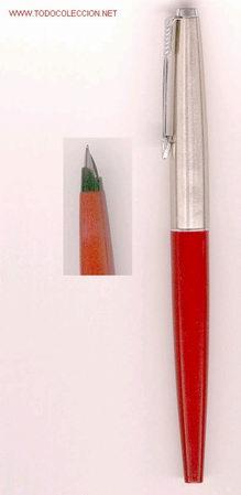 PLUMA PARKER 45 -COLOR BURDEOS- (Plumas Estilográficas, Bolígrafos y Plumillas - Plumas)