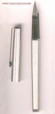 PLUMA INOXCROM 77, ACERO (Plumas Estilográficas, Bolígrafos y Plumillas - Plumas)