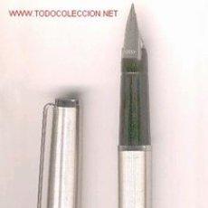 Plumas estilográficas antiguas: PLUMA INOXCROM 77, ACERO. Lote 26985616