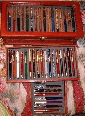 Plumas estilográficas antiguas: Otra foto de la colección de plumas. - Foto 2 - 24066441