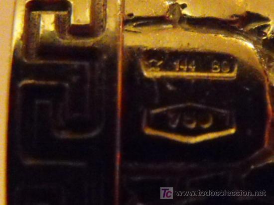Plumas estilográficas antiguas: PLUMA ESTILOGRÁFICA GIANNI VERSACE DE ORO MACIZO 18K.100 % ORIGINAL. FOUNTAIN PEN, SOLID GOLD 18K. - Foto 12 - 27299582