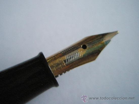 Plumas estilográficas antiguas: N9759-PLUMA ESTILOGRÁFICA-JUNIOR-ESPAÑA-VERDE-PLUMIN ORIGINAL-ANTIGUA-BUEN ESTADO-VER FOTOS - Foto 5 - 26691530