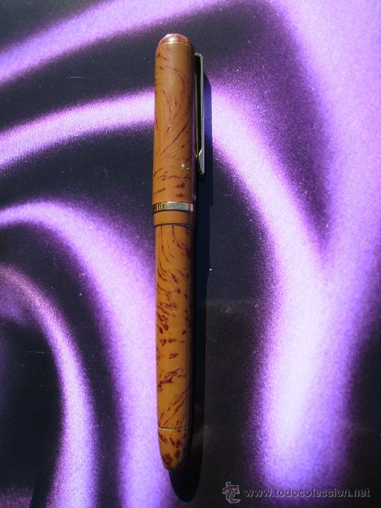 Plumas estilográficas antiguas: pluma marksman - Foto 2 - 30856553