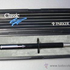 Plumas estilográficas antiguas: PLUMA ESTILOGRÁFICA PARKER CLASSIC - MADE IN U.K.. Lote 31881681