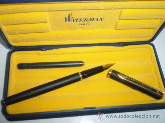 Plumas estilográficas antiguas: NN1379-PLUMA ESTILOGRÁFICA-FRANCE-WATERMAN EXECUTIVE-CAJA-PERFECTO E.-ver fotos-(1379) - Foto 10 - 27101210