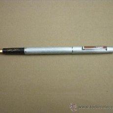 Plumas estilográficas antiguas: PLUMA ESTILOGRAFICA - RIGONI - PLATEADA MATE - SIN USAR.. Lote 32432405