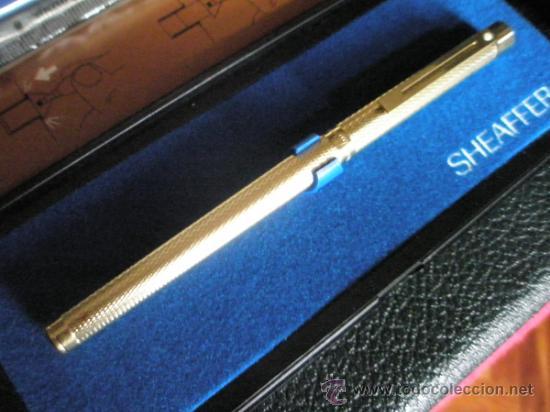 Plumas estilográficas antiguas: 5824-PLUMA ESTILOGRAFICA-USA-SHEAFFER TARGA BARLEYCOM CLASSIC ORO-PAPEL-VER FOTOS - Foto 12 - 31541708