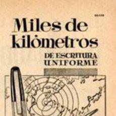 Plumas estilográficas antiguas: PÁGINA PUBLICIDAD ORIGINAL *ESTILOGRÁFICA SUPER T* AGENCIA PUBLICIDAD OESTE - AÑO 1958. Lote 36126061