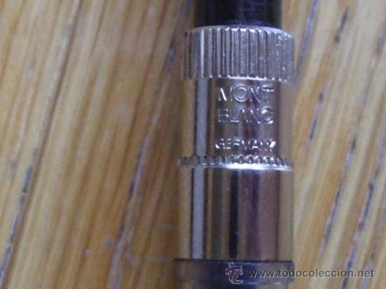 Plumas estilográficas antiguas: PLUMA MONT BLANC - Foto 3 - 36740859