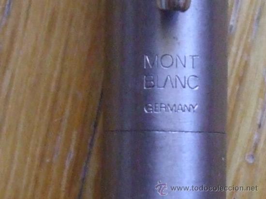 Plumas estilográficas antiguas: PLUMA MONT BLANC - Foto 2 - 36740859