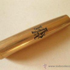 Plumas estilográficas antiguas: CAPUCHON DE PLUMA ESTILOGRAFICA CHAPADO EN ORO - 1/10 12K GOLD FILLED. Lote 191422523