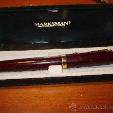 Plumas estilográficas antiguas: PLUMA MARKSMAN. Lote 38164663