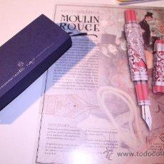 Plumas estilográficas antiguas: PLUMA MODELO MOULINE ROUGE. Lote 39065781