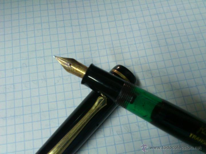 Plumas estilográficas antiguas: PLUMA ESTILOGRAFICA KAWECO TRANSPARENT 3000 F Y PLUMIN CSA 14 K. - Foto 5 - 39404869