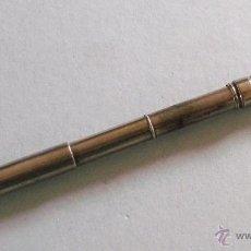 Plumas estilográficas antiguas: PLUMA ESTILOGRAFICA Y LAPIZ - LOS DOS RETRACTILES - S.MORDAN & CO - BAÑO DE PLATA, 1900 APROX. Lote 40017426