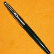 Plumas estilográficas antiguas: PLUMA ESTILOGRAFICA INOXCROM 77 VERDE. Lote 41232066