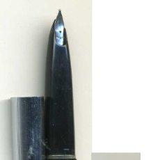 Plumas estilográficas antiguas: ESTILOGRAFICA SHEAFFER, MARCA EN EL PUNTO, DE CARTUCHO, COLOR NEGRO. Lote 42345337