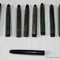 Plumas estilográficas antiguas: 5 UNIDADES RECAMBIO PARKER 21. Lote 156216356